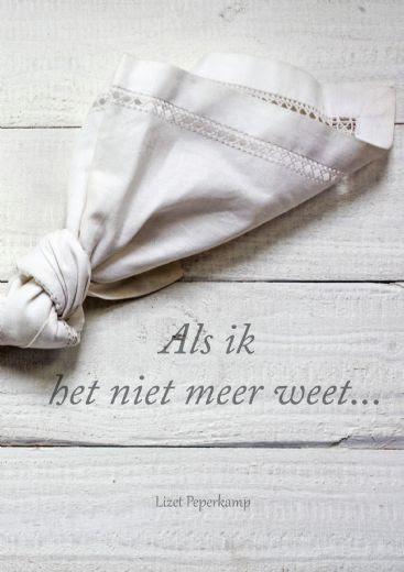Verwonderend Gedichten over dementie — RTV-Ridderkerk EP-28