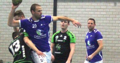 Handballers doen wat verwacht werd