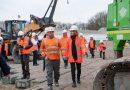 Minister Van Nieuwenhuizen start project vernieuwing aansluiting A16/N3