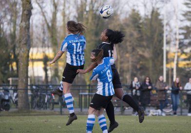 Vrouwen RVVH winnen thriller van FC Eindhoven