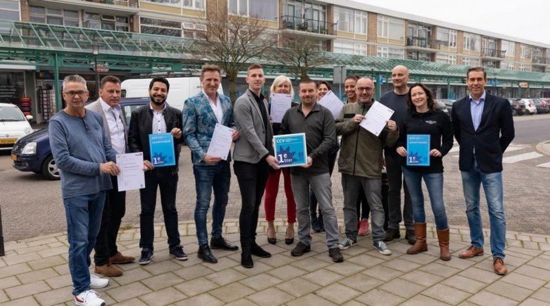 Keurmerk Veilig Ondernemen voor Dillenburgplein