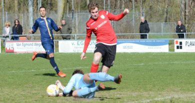 Slikkerveer verliest met 2-1 bij Sporting Leiden