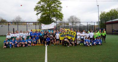 Kwartfinale Cruyff Courts 6 vs 6 in Ridderkerk