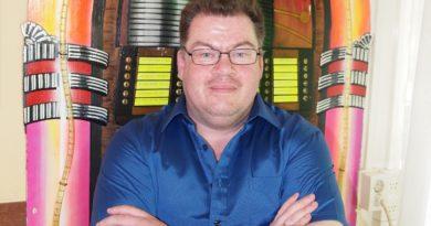 Jeffrey Lake bij Radio Ridderkerk