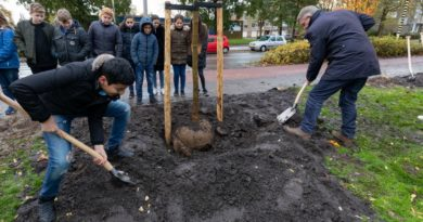 Bomen planten in Ridderkerk