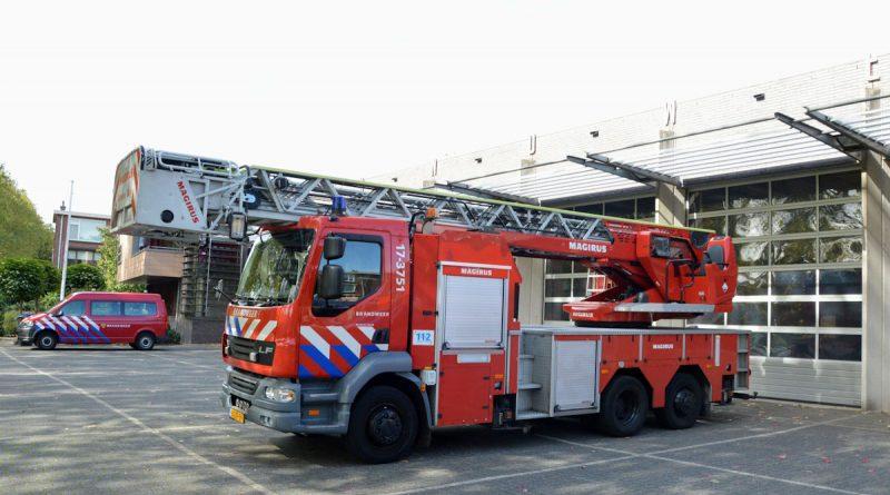 Brandweer rukt uit voor keukenbrandje in flat Boksdoornstraat