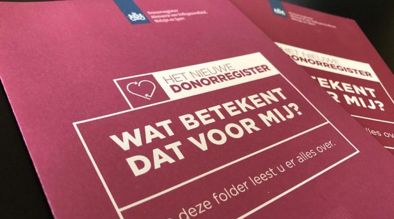 Alle volwassenen in Zuid-Holland staan in Donorregister