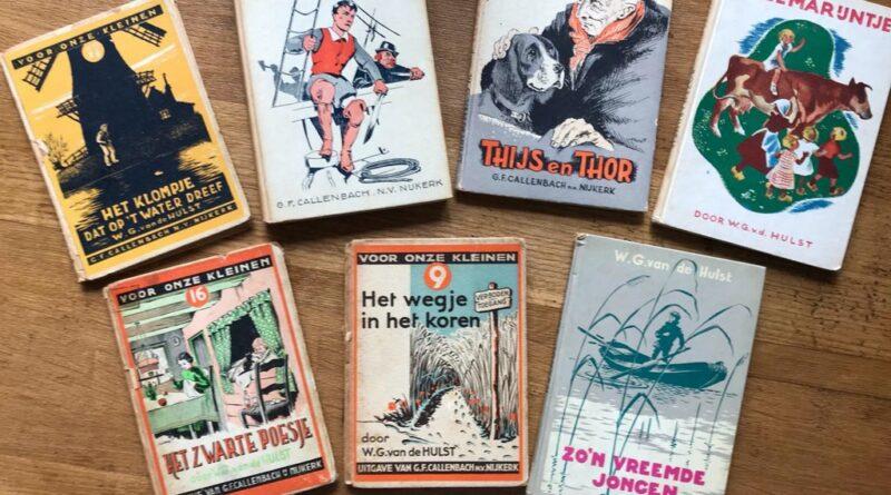 Van de Hulst-boekjes in Oudheidkamer Ridderkerk