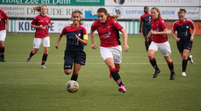 Vrouwen RVVH ongelukkig bij FC Rijnvogels