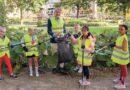 Kinderen in actie tegen zwerfafval in Ridderkerk