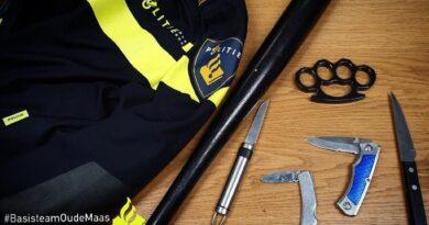 Politie houdt preventief fouilleeractie in Ridderkerk