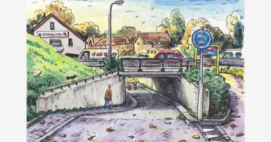 Ridderkerk door de ogen van Jac van Dam: Fietstunnel Benedenrijweg (deel 3)