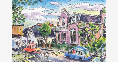 Ridderkerk door de ogen van Jac van Dam: Sint Jorisstraat (deel 10)