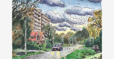 Ridderkerk door de ogen van Jac van Dam: Oosterparkweg (deel 9)