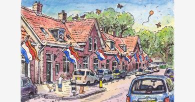 Ridderkerk door de ogen van Jac van Dam: Kievitsweg (deel 11)