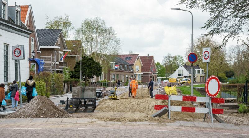 Werkzaamheden Lagendijk achter op schema