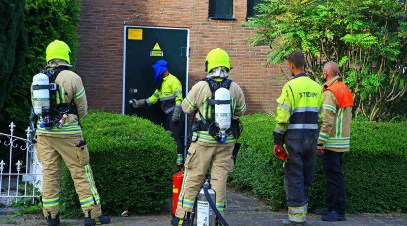 Explosie in transformatorhuisje aan Bourgondischelaan
