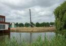 Heipalen gaan soepel de grond in voor project Waterrijk 't Zand