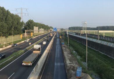 Weekendafsluitingen voor verbreding A15 Papendrecht – Sliedrecht