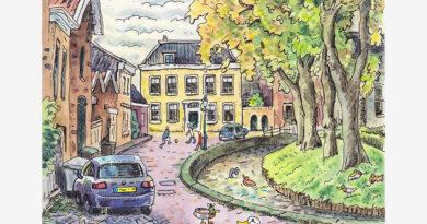 Ridderkerk door de ogen van Jac van Dam: Kerksingel (deel 19)