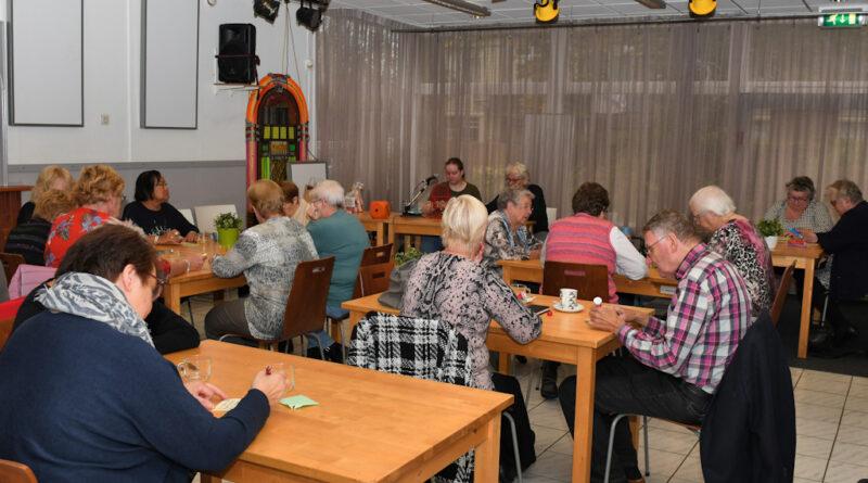 Geslaagde Bingo-middag bij RTV-Ridderkerk