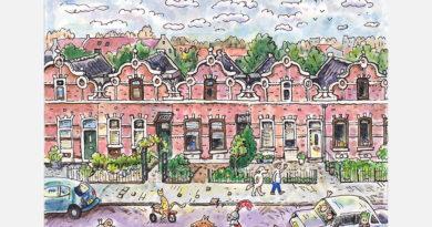 Ridderkerk door de ogen van Jac van Dam: Benedenrijweg (deel 22)