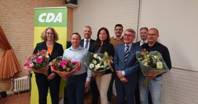 CDA Ridderkerk maakt kandidaten gemeenteraadsverkiezingen 2022 bekend